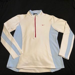 Nike zip long sleeved shirt